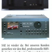 SAE Resufaces in Germany