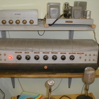 RCA 807 PA amp and Tech-Master