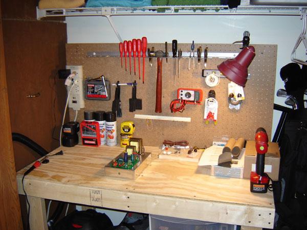 Самодельный верстак для гаража своими руками 39